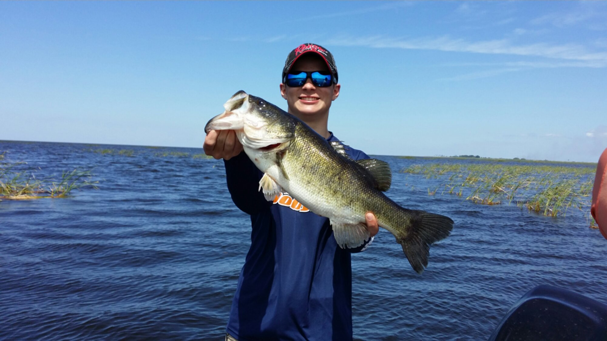 Florida bass stick marsh fishing guide for Blue marsh lake fishing
